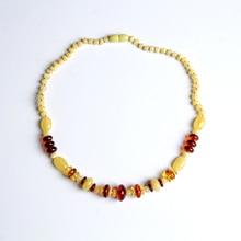 Amber Beeswax Necklace Pendant Lanyard Sweater Chain Men's & Women's Rainbow Chain Chicken Oil Hau Lengmi Beads Blood Perkin  недорого