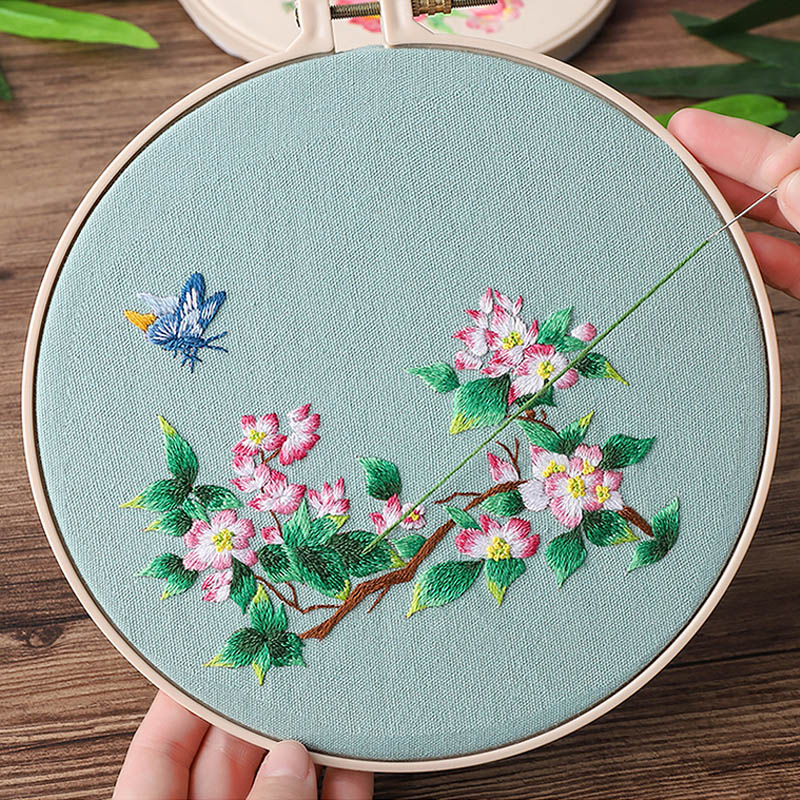 Cross Stitch Kits Needle Work Hand Made Crafts Embroidery Hoop DIY Chinese Arts