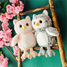 New Style Lovely Fat Owl Plush Toys Stuffed Animal Doll Toy Soft Pillow Children Girls Birthday Gift