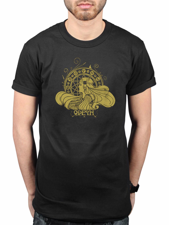 Opeth Zodiac New T-Shirt Metal Rock Bloodbath Katatonia Merchandise