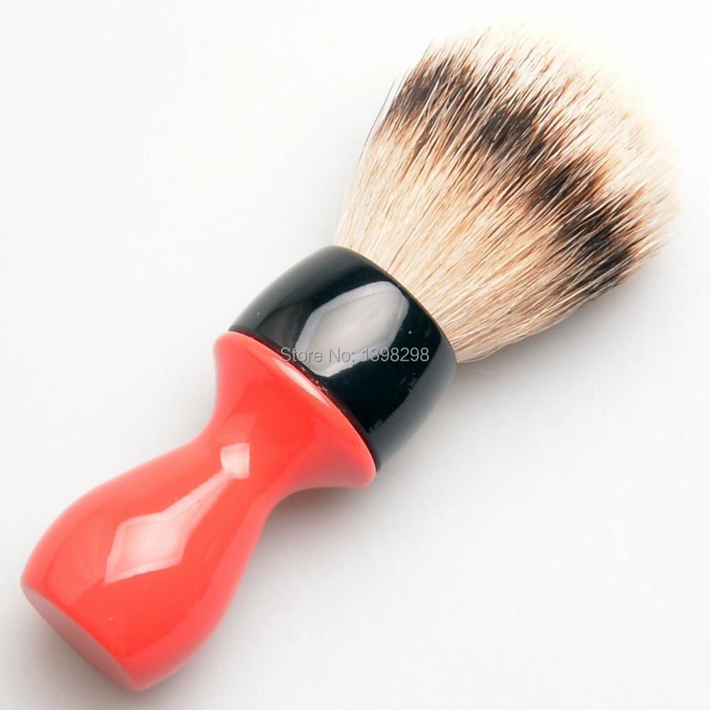 CSB noeud 24mm Silvertip blaireau cheveux rasage brosse joint forme nouveau conçu rasage brosse poignée barbe rasage