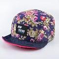 Лето Цветочные узоры стиль Алмаз пять 5 панель hat мягкие края strapback Бейсболки кости snapback хип-хоп шляпы для мужчин и для женщин