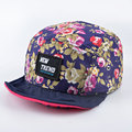 summer Floral patterns style Diamond five 5 panel hat soft brim Baseball Caps strapback bone snapback hip hop hats for men women