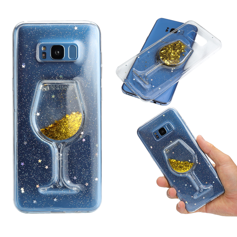 Liquid Dynamic Cases Quicksand Plus Samsung Glitter Sil Case S8 Galaxy Cover S8 Soft