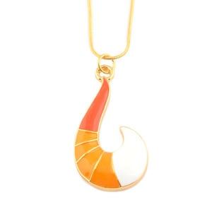 Fashion Ladybug Necklace Fox Pendant Necklaces Metal Chain Charm Choker Women Men Jewelry Gift(China)
