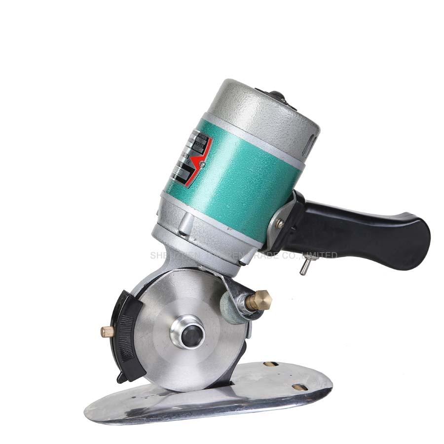 5pcs CZ Y110 No pole motor Round font b Knife b font cloth Cutting Machine Portable