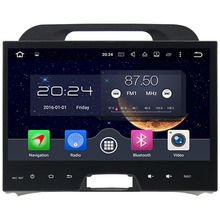 "4GB RAM Android 6.0.1 Octa Core 2 Din 10.1"" inch Multimedia Player GPS Navigation Touch Screen For Kia Sportage 2010-2012"