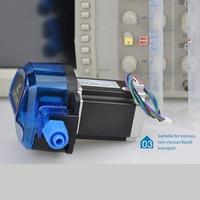 Kamoer KHL Miniature Peristaltic Pump Stepper Motor High Precision 12/24V 1800ml/min High Repeatability Long Life