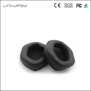 Image 2 - Linhuipad 1 pair V Moda headset ear cushion memory foam ear pads protein earpads fit on V Moda Crossfade M 100 LP2 LP