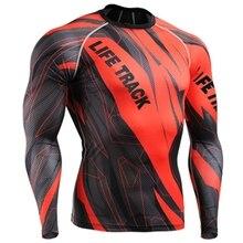 rhguard Красный мужской купальник крутой дизайн гидрокостюм для виндсерфинга повторяющийся Печатный длинный рукав купальник для Рашгард для серфинга Топ