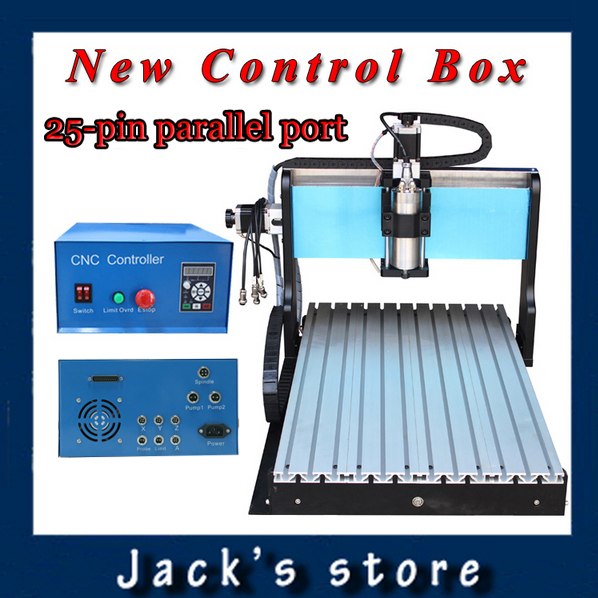 25-pin parallel port !!! 6040Z-SS++ ,1500W Spindle +2.2kw VFD CNC6040 CNC Router water-cooling Metal engraving machine usb port 3020z s cnc3020 800w spindle 1 5kw vfd cnc router water cooling metal engraving machiney cnc machine cnc 3020
