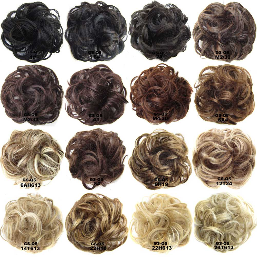 Wig Hair Ring Curly Bride Makeup Bun Flowers Chignon Ponytail Hairpiece Extension Styling Hair Rollers Wigs Accessories 88 SK88 45cm long curly sweet lolita ponytail extension hairpiece wig dark brown