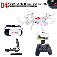 RC Drone with Camera HD 0.3MP/2.0MP RC Quadcopter 2.4Ghz Quadrocopter FPV Racing Helicopter Remote Control Dron Toys Dwi D4