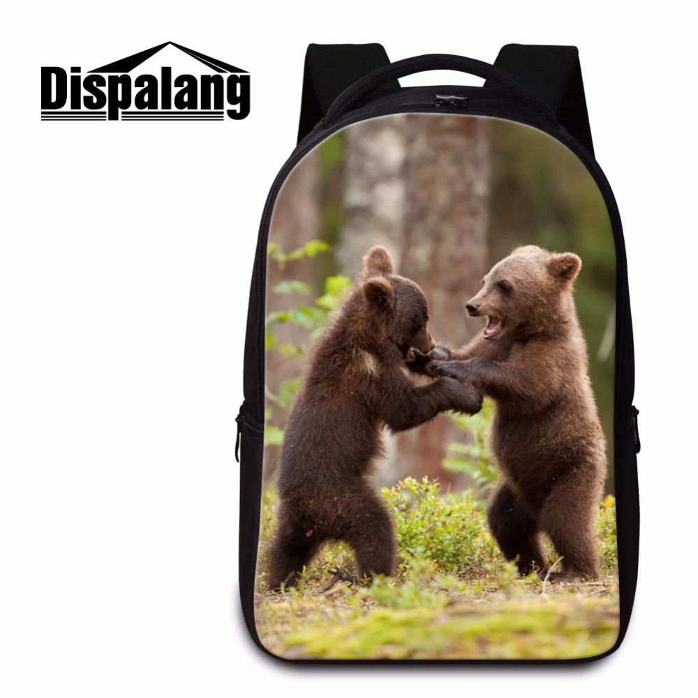 Dispalang High Quality Bear Print Backpack for Teenagers Cute Animal School Bookbags Laptop Back Pack for College Girls MochilasDispalang High Quality Bear Print Backpack for Teenagers Cute Animal School Bookbags Laptop Back Pack for College Girls Mochilas