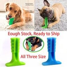 Домашние животные щетинистые чистки Stick мире наиболее эффективным Зубная щётка для собак гигиены игрушка щетинистые чистки палку животное моляров Зубная щётка
