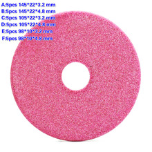 5Pcs באיכות טחינת גלגל דיסק 145/105 /90mm עבה 3.2 / 4.8mm בנזין שיניים חידוד שוחק קוטר אבן מטחנות