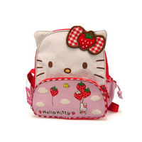 Free shipping Cartoon children backpacks hello kitty mini backpack Very cute for kids Use of children aged 0 to 3