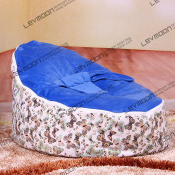 FREE SHIPPING baby bean bag with 2pcs ocean blue up cover baby beanbag lazy chair chair baby bean bag chair blue baby bean bag стоимость