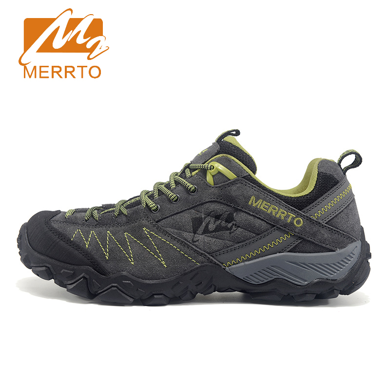 2017 Merrto Mens Walking Sports Shoes Breathable Non-slip Outdoor Shoes Shoes Travel Shoes For Men Free Shipping MT18630