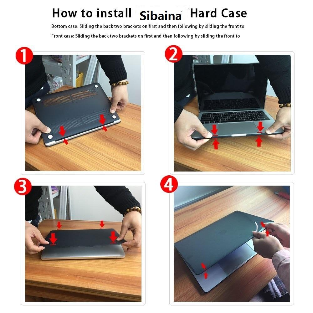 Новый чехол для ноутбука Apple Macbook Air Pro - Аксессуары для ноутбуков - Фотография 6