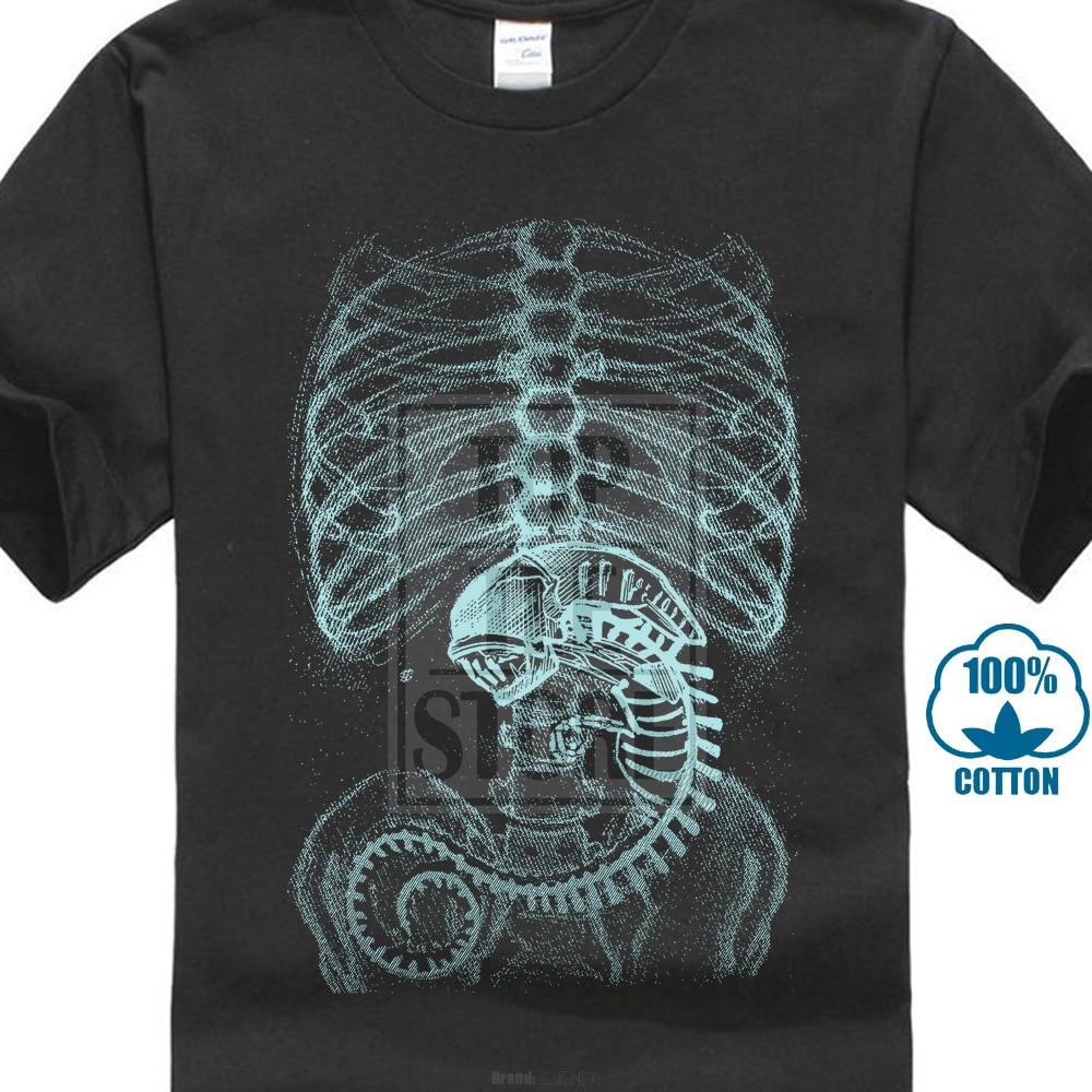Xenomorph Alien   T     Shirt   Ripley Prometheus Nostromo Weyland Movie Film Fan Saga