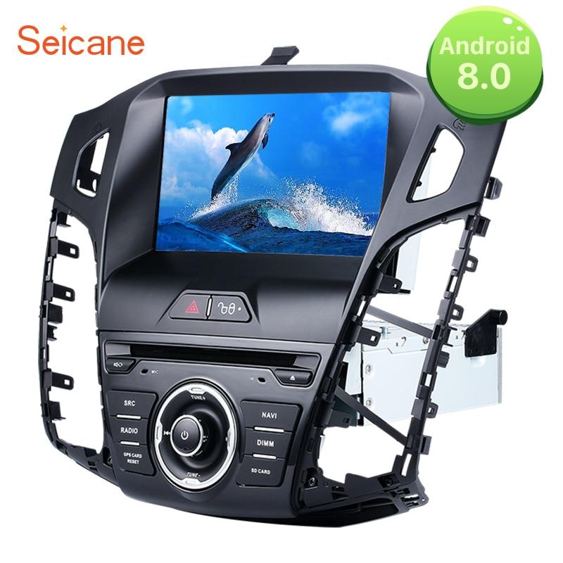Seicane двойной Din 8 Android 8,0 gps головное устройство автомобиля FM Радио DVD плеер для 2013 2012 2011 Ford focus с Wi Fi Поддержка OBD DVR