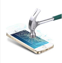 10 шт. для закаленного стекла на iphone 5s 5c закаленное стекло 0.3 мм HD гвардии экран verre trempe pelicula де видро Vetro Temperato