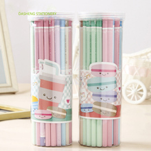 50 PCS Pencils Wood Pencil Set Macaron Colored for school office writing kids Lead Sketch HB