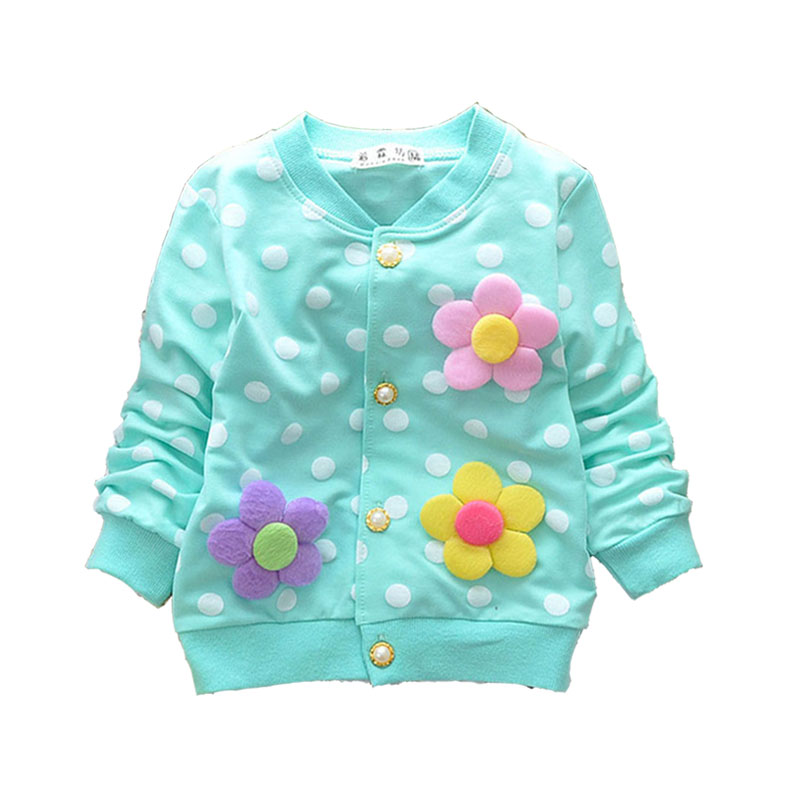 Spring 2018 newborn infant baby girls clothing cotton Flowers fleece hoodies outerwear for baby girls sports coats sweatshirts защитное стекло lamel 2 5d myscreen lite glass edge white для iphone 6 6s md2081tg fcov white