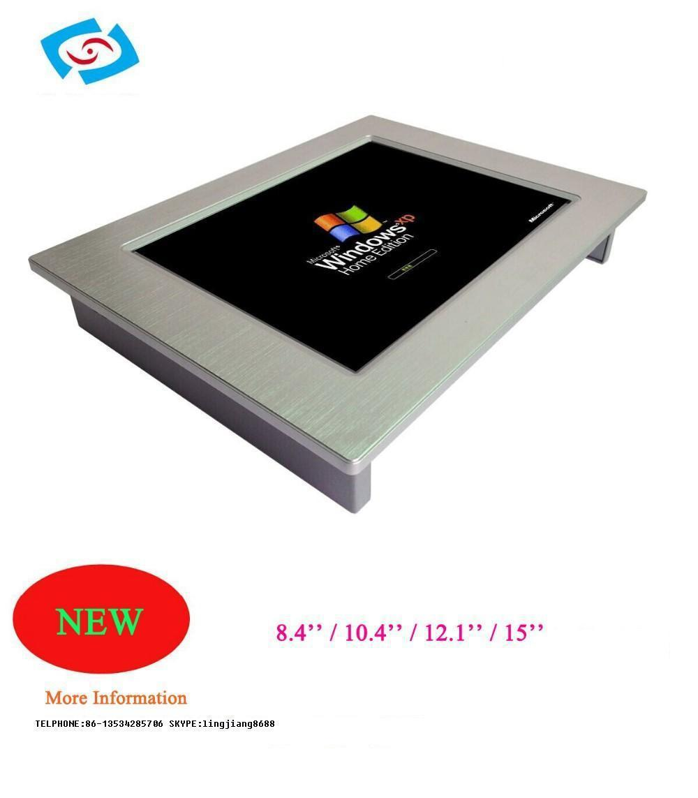 Rugged industrial vehicle panel pc with 4*USB 2.0PPC-150P hot sale vehicle industrial touch panel pc ppc 121p