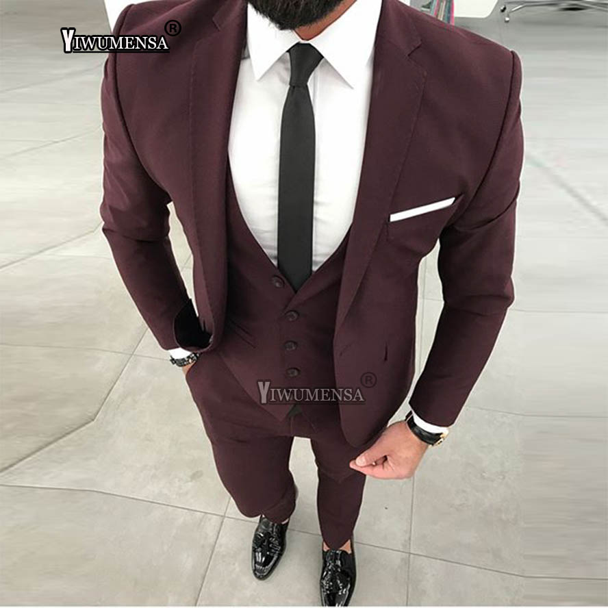 yiwumensa costume mariage homme 2018 wedding suits for men. Black Bedroom Furniture Sets. Home Design Ideas