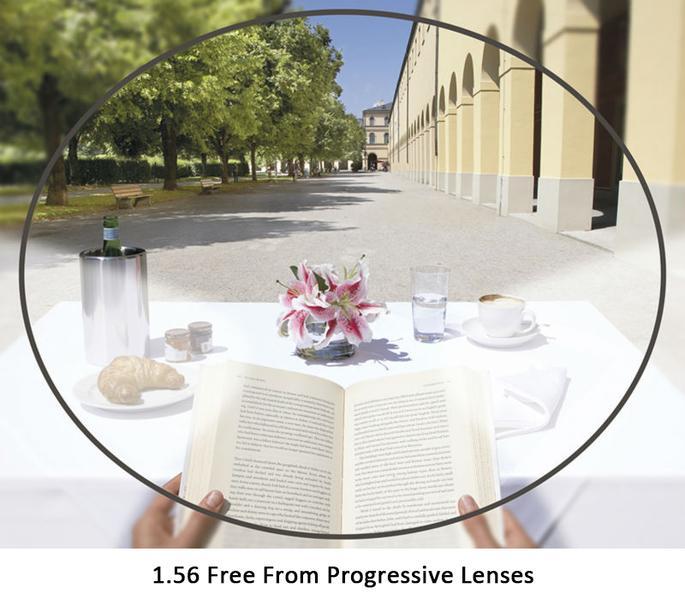 1.56 Free Form Progressive Lenses Multifocal Glasses