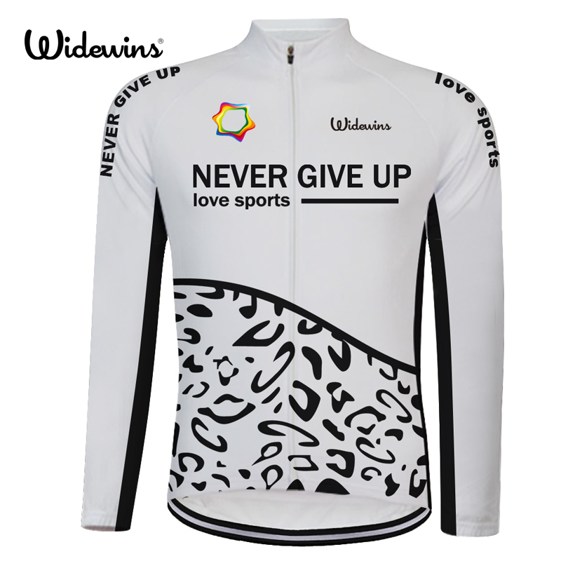 2018 never give up love sports Cycling Jersey Spring Long