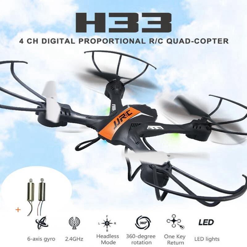 Jjrc H33 Mini Drone Una Chiave di Ritorno Rc Drone-axis 4ch Rc Helicopter Quadrocopter Dron Giocattolo Per I Bambini Modello di Elicottero Brinquedos