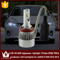 Guang Dian car led light h9 Headlight Head lamp h11 high beam C6F 6000K white  for lexus CT200 2012-2013 only