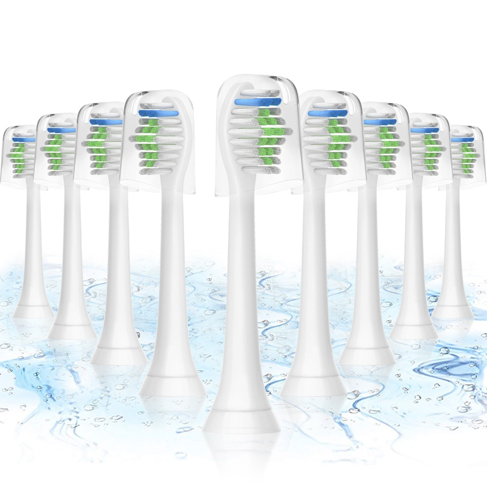 16Pcs Tooth Brush HEADS For PHILIPS Sonicare HX6511 HX9362 HX6013 HX6063 HX3110 HX3212 HX6231 HX6631 HX6711 HX6721 HX8911 HX6730