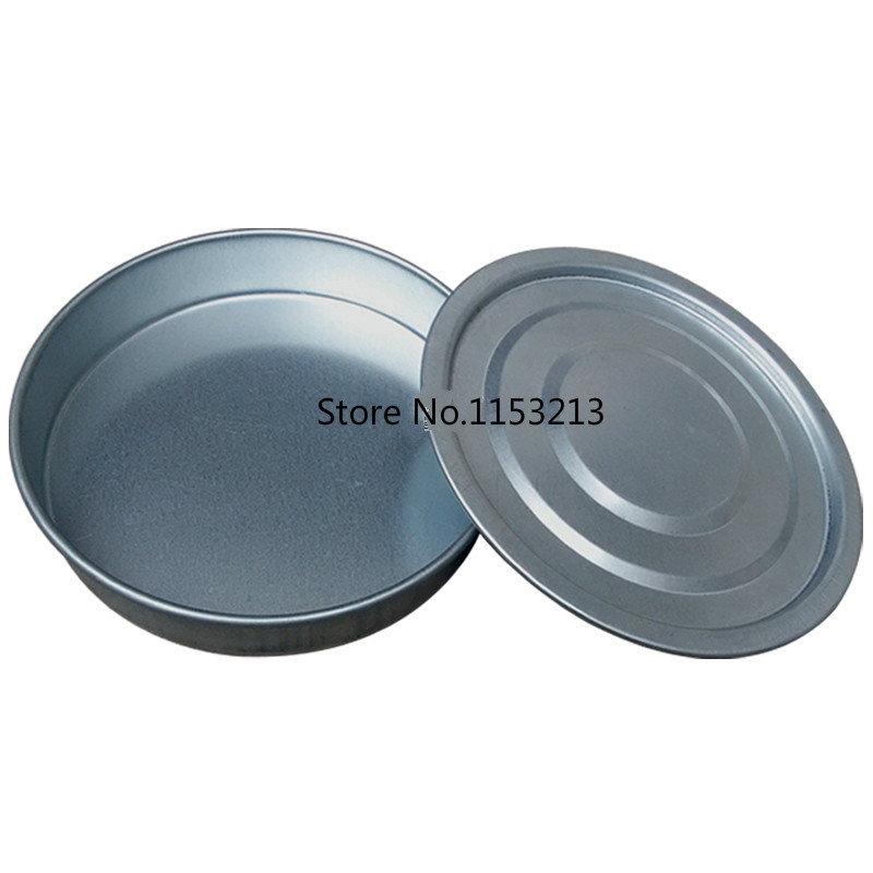 Pan Diameter 30cm Galvanized lid and bottom container for Standard Laboratory Test Sieve Sampling Inspection Pharmacopeia sieve тетрадь для записи английских слов розовая