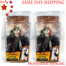 COOL God of War Kratos 7″ Action Figure With Lion's Heads, Game players' Favourite, Stock! SAME DAY SHIPPING