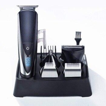 Mens Beard Trimmer Kit Hair Trimmer for Nose Ear Grooming Trimmer Kit Body Grommer for Men Waterproof Cordless USB Rechargeable