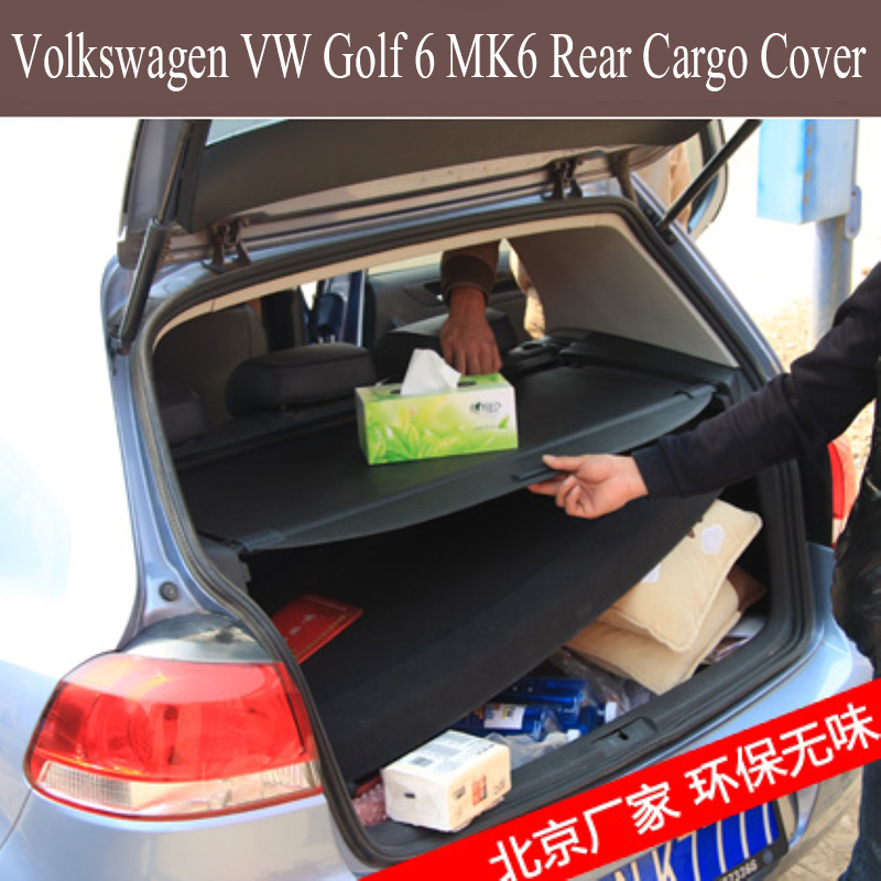 For Volkswagen VW Golf 6 MK6 2008 2013 Rear Cargo Cover