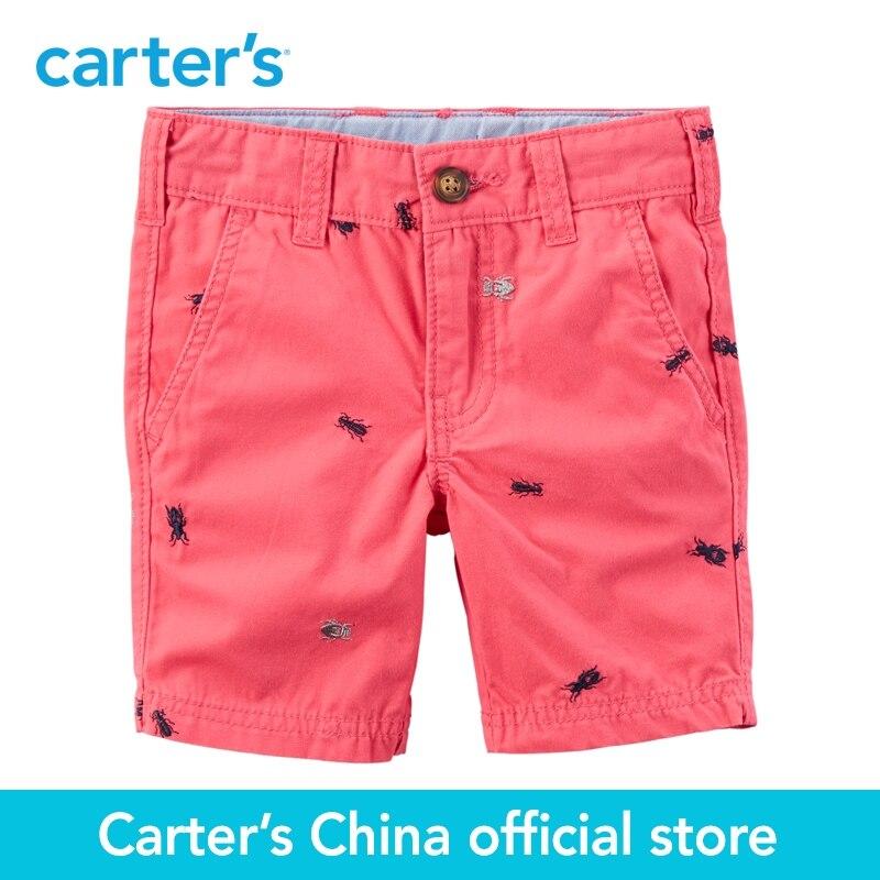 Carter s 1pcs baby children kids Schiffli Flat Front Shorts 248G117 sold by Carter s China