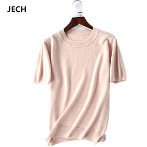 Cashmere JECH Women Pullovers Jumper Knitted Sweaters