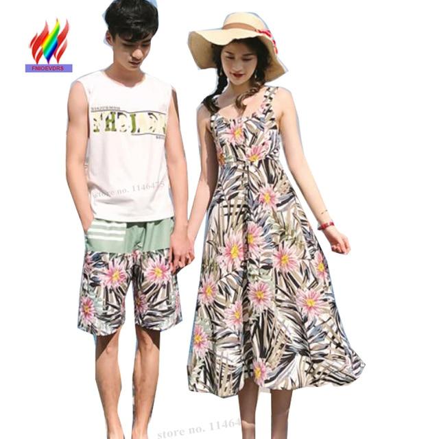 Matching Clothes Honeymoon Valentine S Summer Dresses Beach Bohemian Maxi Dress Cute Long Backless Strapless