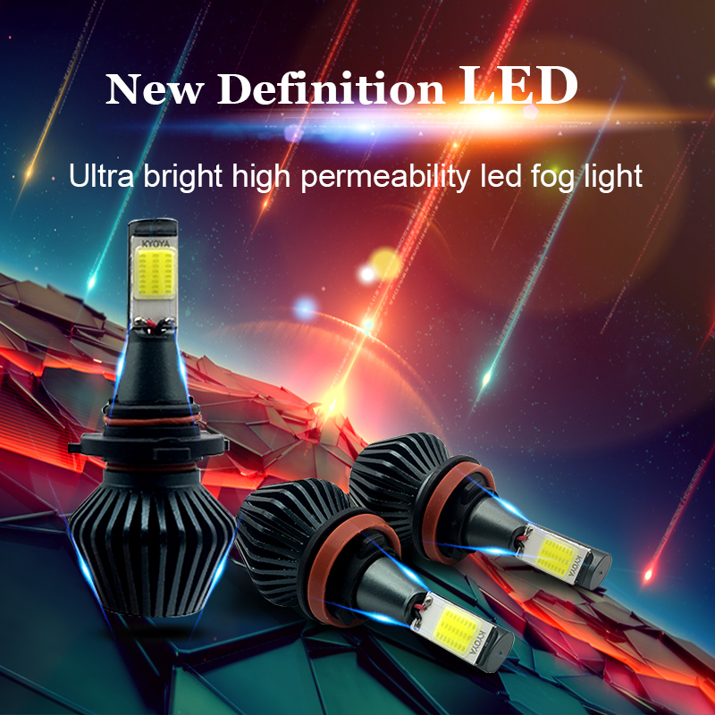 2X Car LED headlight H7 H11 H8 H9 H1 H3 9005 9006 881 880 LED Head Lamp LED Fog Lamp Driving Light Conversion Kit All In One 9005 9006 60w 9 36v car led headlight led driving light all in one kit super bright hight quality 18 months warranty