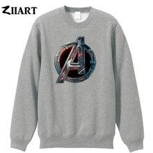 Avengers 2 Age of Ultron Logo couple clothes girls woman cotton autumn winter fleece Sweatshirt