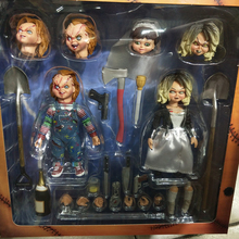 Ultimate Chucky 10cm 4 Doll Childs Play Bride of Good Guys Action Figure PVC With original box