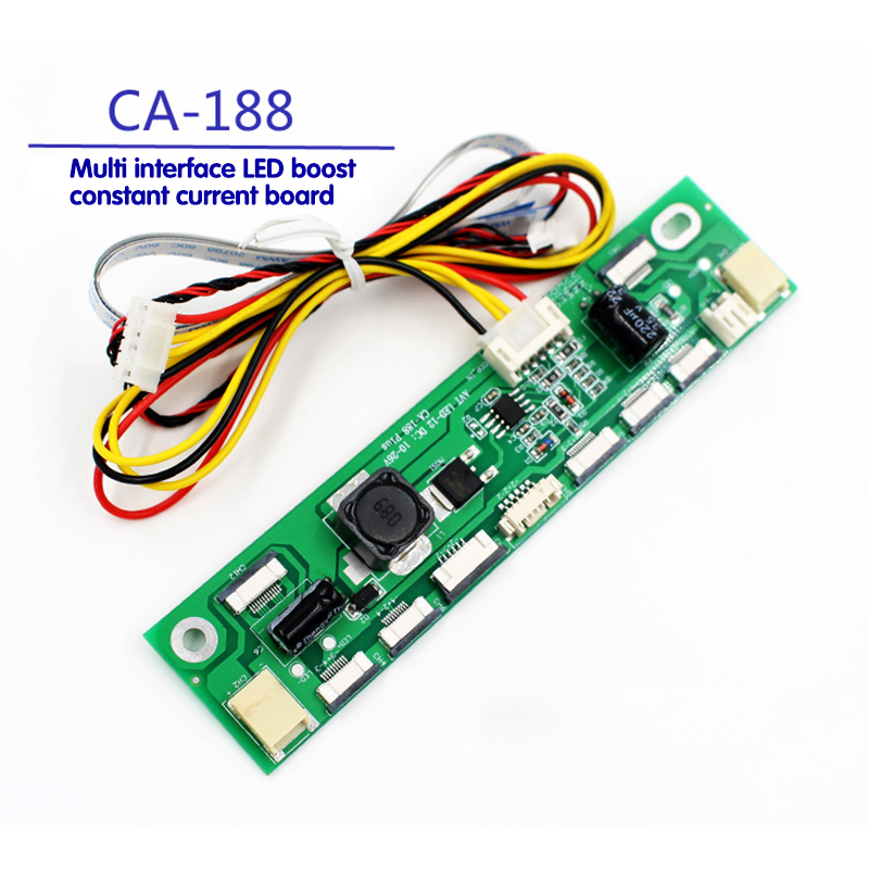 TKDMR constant current board, LED boost bar, 2P 6P 10P 12P multi interface universal high tension bar free shipping