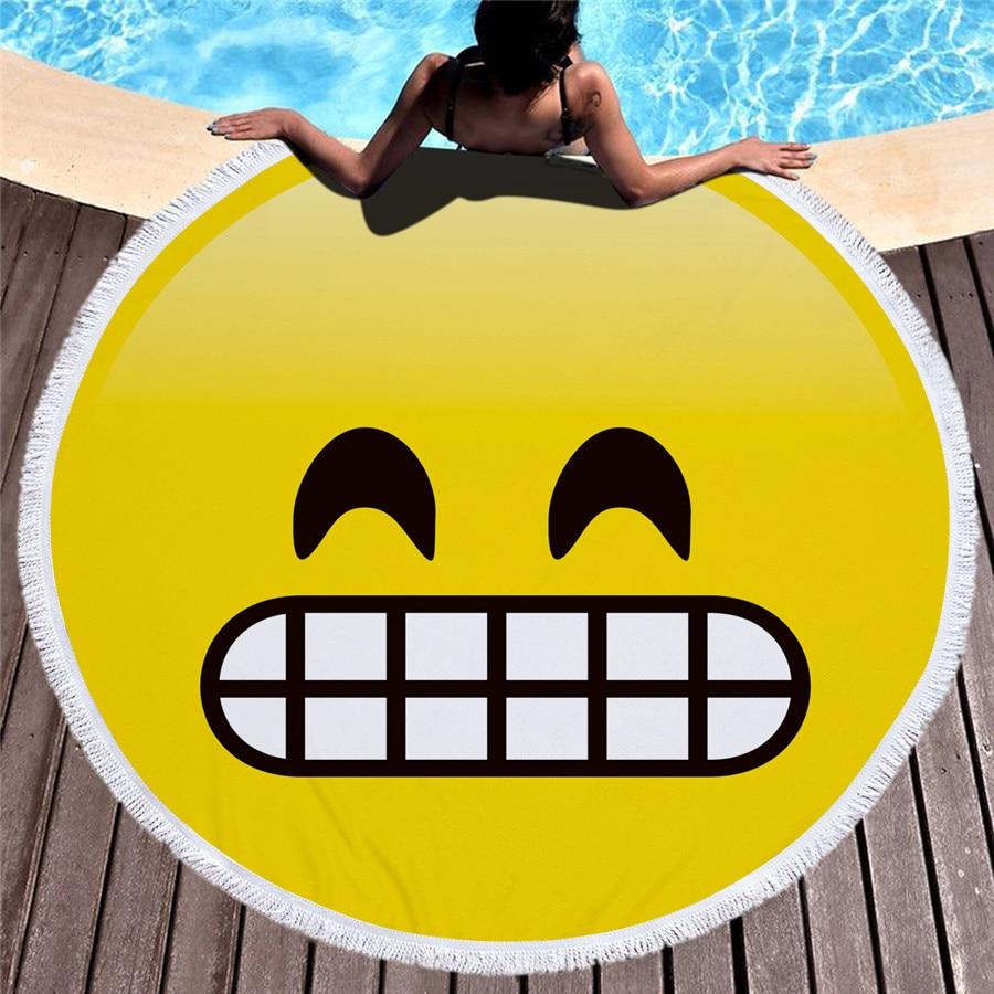 HTB1lMxFmJrJ8KJjSspaq6xuKpXa8 - Emoji Beach Microfiber Towel - MillennialShoppe.com | for Millennials