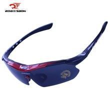 ROBESBON Polarized Cycling Eyewear Outdoor Sports Bike Bicycle Sunglasses TR90 Goggles Windproof Eyewear Bicycle Bike Glasses