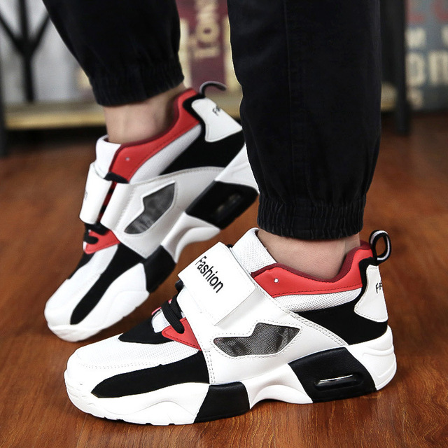 50006cde7ff9 Basketball Hoverboard Shoes Man Show Loving Couple Boots Essential Basketball  Sports Shoes Breathable Deodorant Leather Shoes
